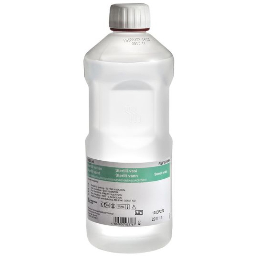 Lage sterilt vann