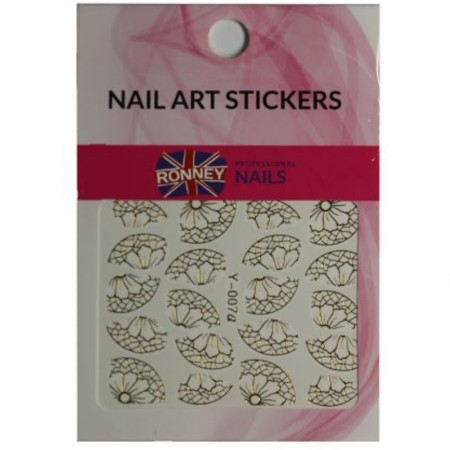 RONNEY® Nail Art Stickers RN 00136