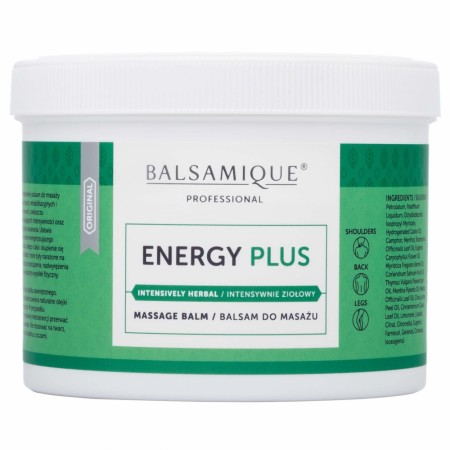 Balsamique® Energy PLUS Massasjebalsam 500ml
