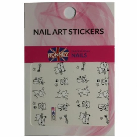 RONNEY® Nail Art Stickers RN 00142