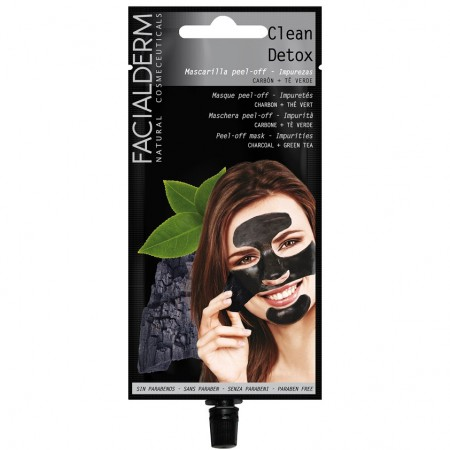 Facialderm Black Peel-of maske