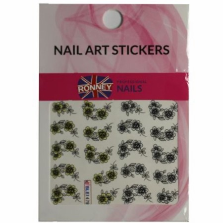 RONNEY® Nail Art Stickers RN 00129