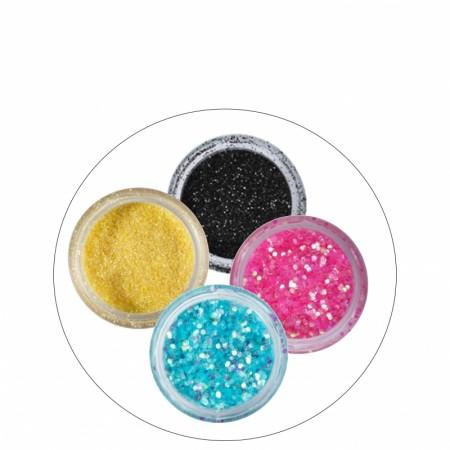Dekor: Glitter/pulver