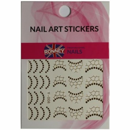 RONNEY® Nail Art Stickers RN 00137
