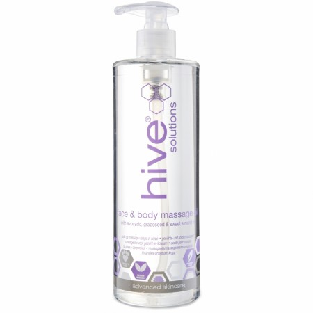 HIVE® Face& Body Massasjeolje 490ml
