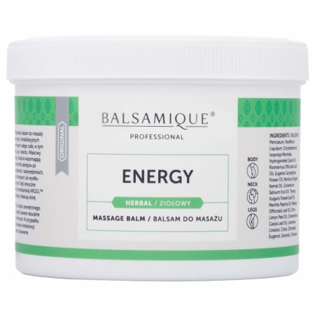 Balsamique® Herbal Energy Massasjebalsam 500ml