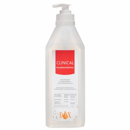 Hånddesinfeksjon Clinical 600ml Dax